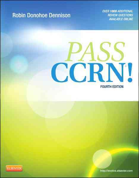 Pass Ccrn By Dennison, Robin Donohoe